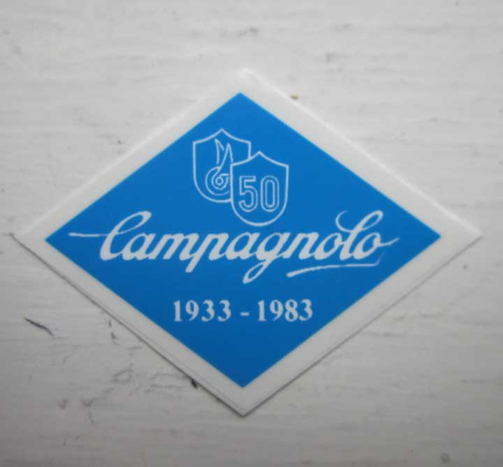 Campagnolo 50th Anniversary Decal / Sticker